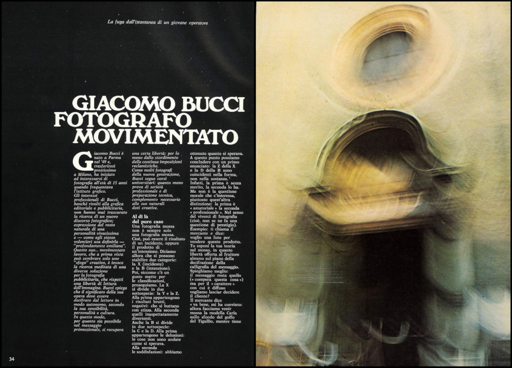 Giacomo Bucci PHOTO 13 1973 34-35