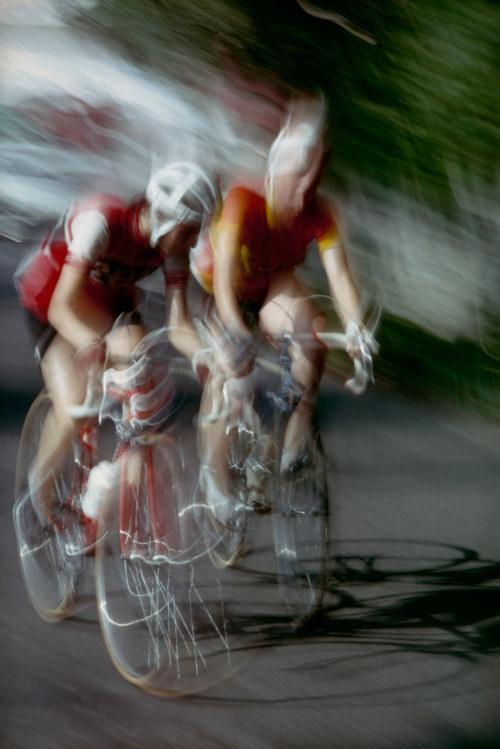 Giacomo Bucci - I due ciclisti - Lecco 1971